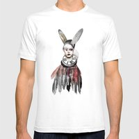 Bunny Boy Mens Fitted Tee White SMALL