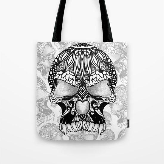Sugar Skull.  Tote Bag