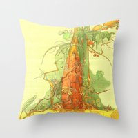 Treezz Throw Pillow