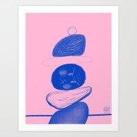Stuck Art Print