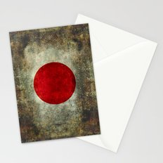 The national flag of Japan Stationery Cards