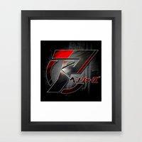 Japanese Avengers Framed Art Print
