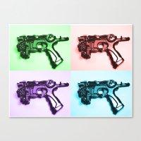 Ray Gun A Canvas Print