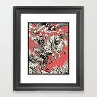 4 Horsemen Framed Art Print