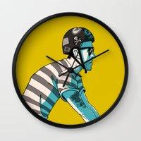 MIKE'S BIKE Wall Clock