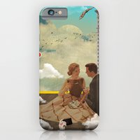 iPhone & iPod Case featuring Modern Vintage Collection -- All Eyes On Me  by Elo Marc