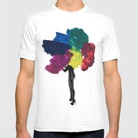 Paint Fetish Mens Fitted Tee White SMALL
