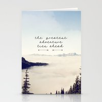 The Greatest Adventure- … Stationery Cards