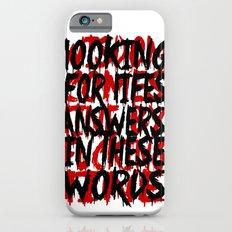Wisdom.. Slim Case iPhone 6s