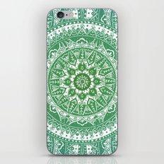 Green Mandala Pattern iPhone & iPod Skin