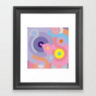 Polyphony / Detail Framed Art Print
