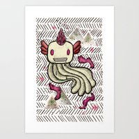 Mad Squillie Art Print