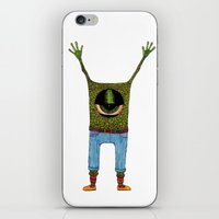 One Eyed Hipster iPhone & iPod Skin