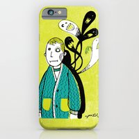 iPhone & iPod Case featuring Everybody Has a Ghost or Two by Jaina Hill-Rodriguez