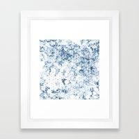 Flower Cubes Framed Art Print