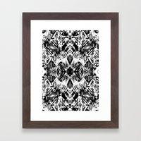Ikat #5E Framed Art Print