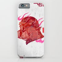 iPhone & iPod Case featuring Red Darth by happiestfung