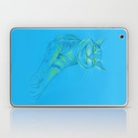 Where's the Canary? (smiley cat) Laptop & iPad Skin