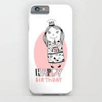 happy birthday iPhone & iPod Cases featuring Happy Birthday by De Assuncao création