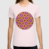 Parade of the Paramecium Womens Fitted Tee Light Pink SMALL