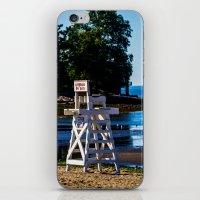 Life Guard Off Duty - En… iPhone & iPod Skin