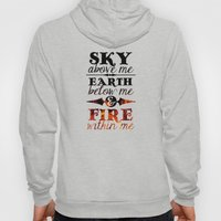 Sky Earth Fire Hoody