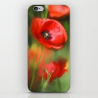 Warmth- Poppies In Love  iPhone & iPod Skin