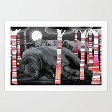 Sweet Dreams Ursus Arctus  Art Print