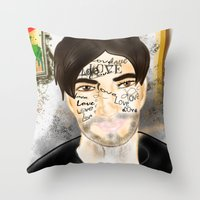 The Word You Never Say (… Throw Pillow