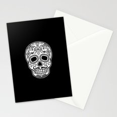 Mexican Skull - Black Edition Stationery Cards