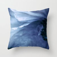 Lover's Blues Throw Pillow
