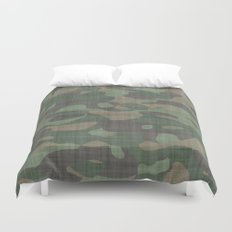 Camouflage Nature Duvet Cover