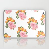 Summer Floral Print Laptop & iPad Skin