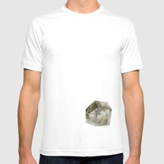 Serenity SMALL Mens Fitted Tee White