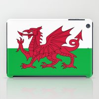 National Flag Of Wales -… iPad Case