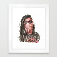 Krillex the Krill Framed Art Print