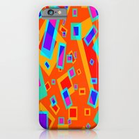 iPhone Cases featuring Funky 80's Design by Amanda Roof