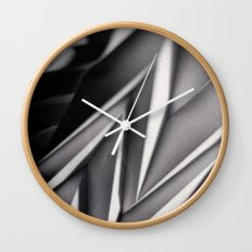 Paper Sculpture #8 Wall Clock