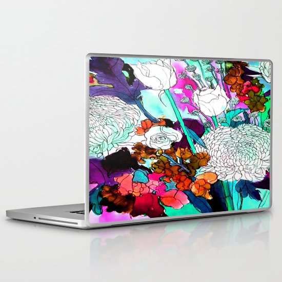 forest flowers 3 Laptop & iPad Skin
