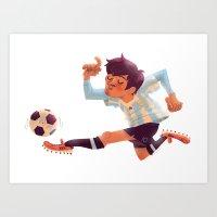 Lionel Messi, Argentina … Art Print