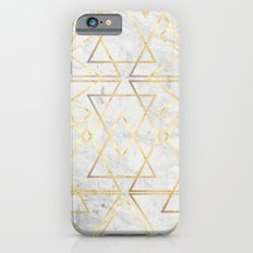 wire gOld triangle iPhone 6s Slim Case