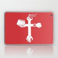 Sign of the Cross Laptop & iPad Skin