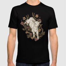 Lamb Mens Fitted Tee Black SMALL