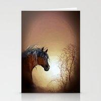 HORSE - Misty Stationery Cards