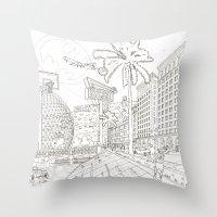 LA Throw Pillow
