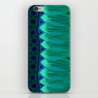 Blue Lotus Petals iPhone & iPod Skin