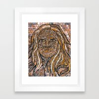 Bronzed Framed Art Print