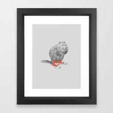 Woodchucks Framed Art Print