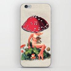 Shroom Girl iPhone & iPod Skin