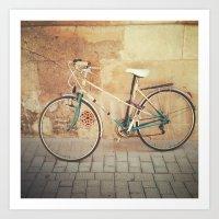 La Bicicleta Art Print